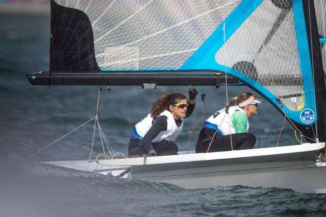 Martine Grael e Kahena Kunze são campeãs pan-americanas (Jonne Roriz/COB)