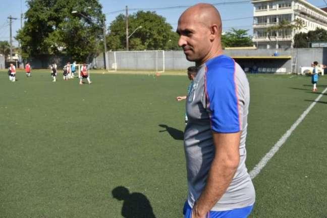 Basílio voltou a trabalhar no Santos