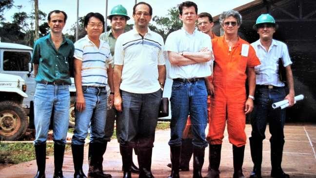 Em 1987, Farouk Al-Kasim visitou o Brasil