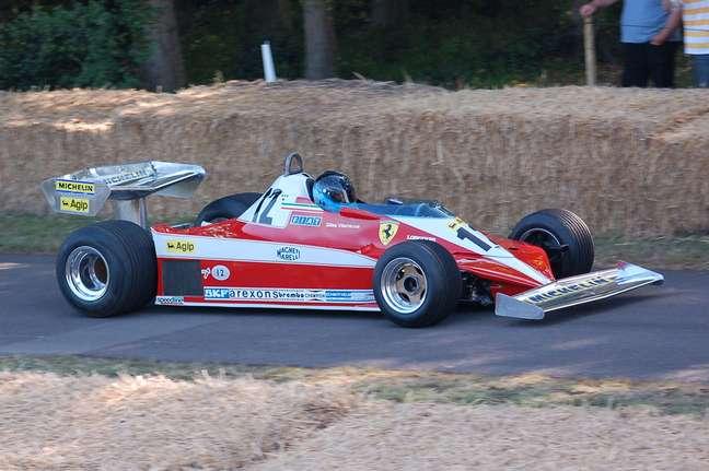 Leiloada a Ferrari 312T de Niki Lauda
