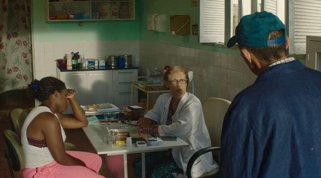 Sônia Braga como Domingas em 'Bacurau'