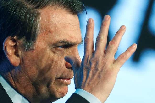 Bolsonaro em evento em Brasília 21/8/2019 REUTERS/Adriano Machado