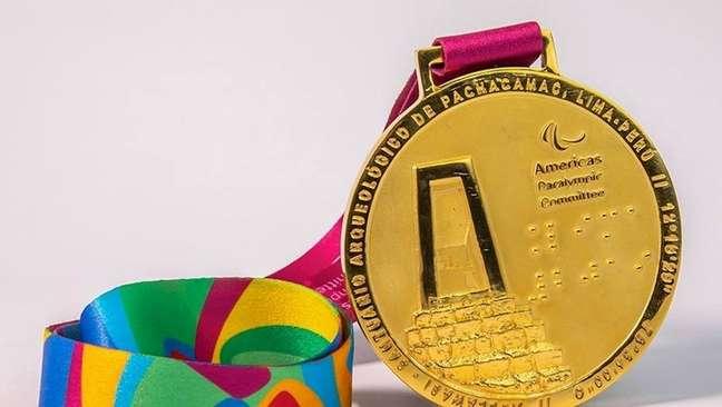Medalha de ouro dos Jogos Parapan-Americanos de Lima