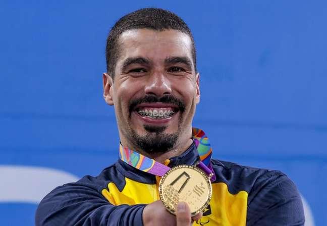 Daniel Dias tem dois ouros no Parapan de Lima e 29 medalhas douradas na história dos Jogos (Foto: Ale Cabral/CPB)