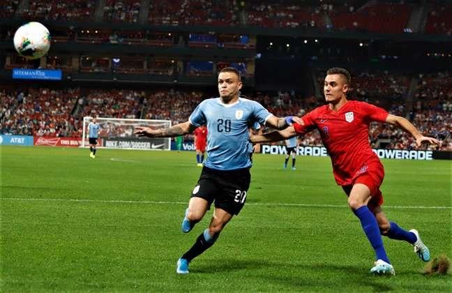 Estados Unidos e Uruguai empataram em amistoso disputado no país norte-americano (Foto: Reprodução)