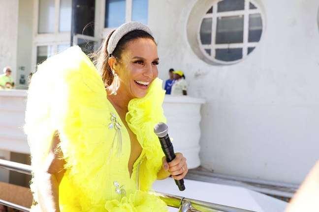 Ivete Sangalo canta no carnaval de Salvador