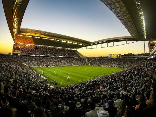 Inicialmente, será permitido 30% da capacidade do estádio. A partir de 15 de outubro, será autorizado 50%. Já a capacidade total está prevista para 1º de fevereiro. (Foto: Bruno Teixeira/Ag. Corinthians)
