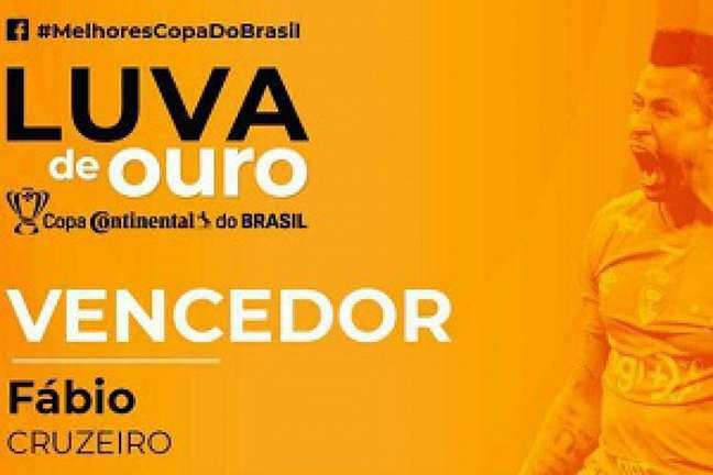 O Cruzeiro foi representado entre os melhores da competição mata-mata pelo arqueiro celeste- (Divulgação)