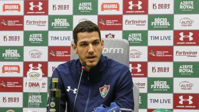 Nino destaca a experiência do grupo do Tricolor (Foto: Lucas Merçon/Fluminense)