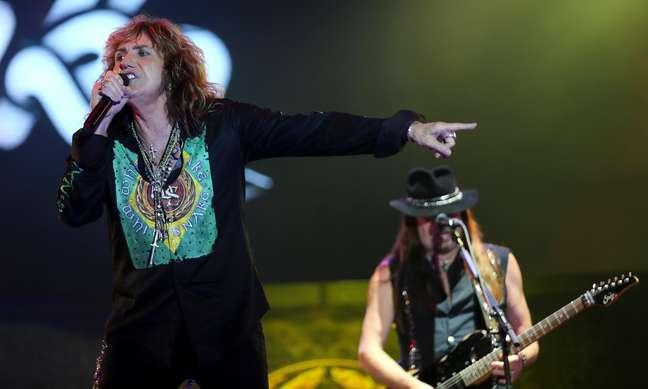 Banda de David Coverdale, Whitesnake tocou na primeira edição do Rock in Rio