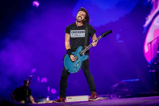 Foo Fighters, a atração mais aguardada do 2º dia do Rock In Rio