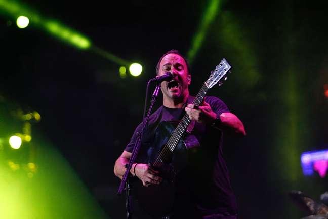 Show de Dave Matthews Band não chegou a levantar o público no Rock in Rio