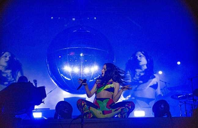 Jessie J se apresenta no Rock in Rio