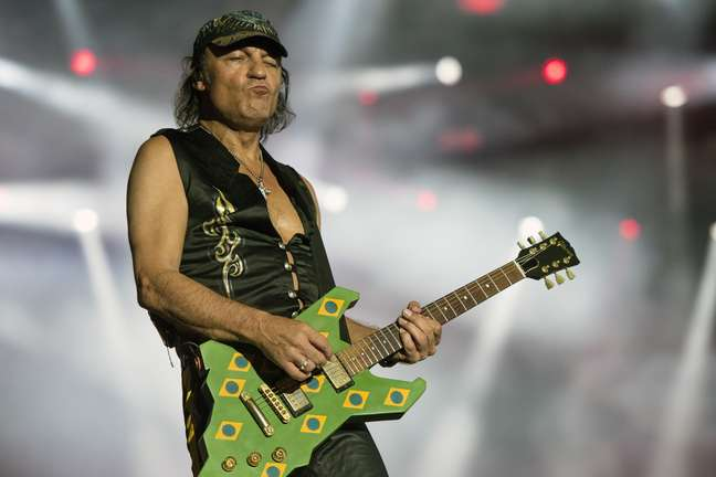 Scorpions tocaram depois do Iron Maiden no Rock in Rio