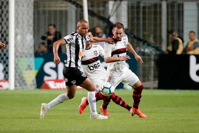 No primeiro turno, o Atlético-MG venceu o Flamengo por 2 a 1, no Independência (Foto: Bruno Cantini / Atlético)