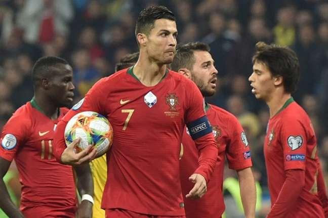 Cristiano marcou, mas não venceu (Foto: AFP)