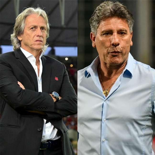 Jorge Jesus e Renato Gaúcho deixaram grande legado