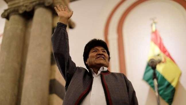 'É quase certo que, com o voto das áreas rurais, venceremos no primeiro turno', afirmou Evo Morales