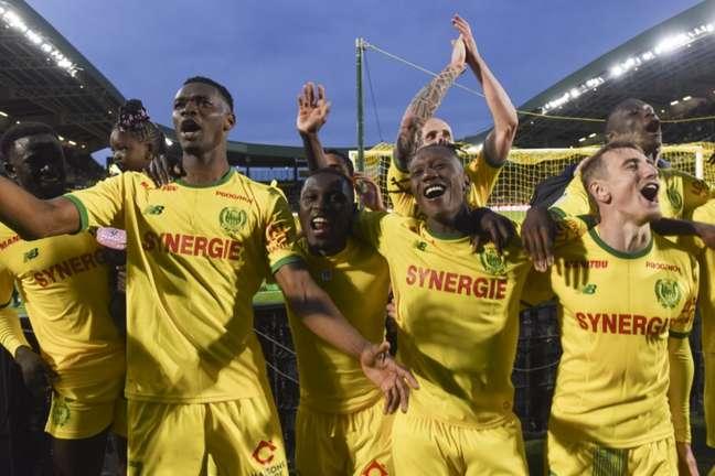 Nantes ocupa a segunda posição do Campeonato Francês (Foto: Sebastien Salom-Gomis / AFP)