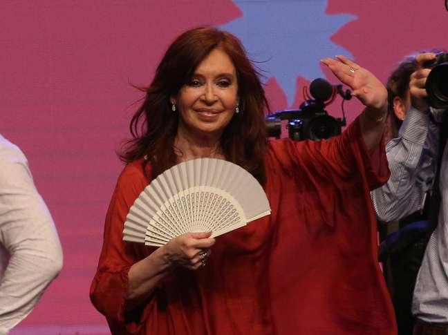 Ex-presidente da Argentina, Cristina Kirchner 27/10/2019 REUTERS/Agustin Marcarian