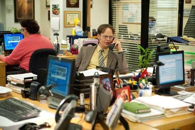 Um dos personagens mais marcantes da série, Dwight Schrute sonha em ocupar o mais alto escalão da Dunder Mifflin