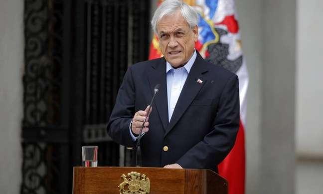 Sebastian Piñera cancelou dois grandes eventos no país (AFP)