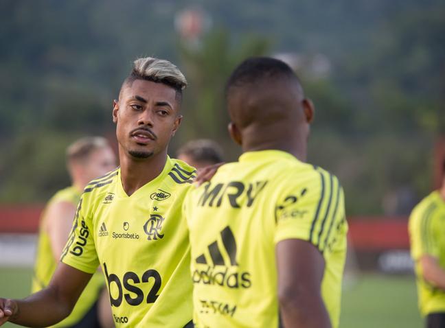 Bruno Henrique é um dos principais jogadores do Flamengo (Foto: Reprodução/Twitter)