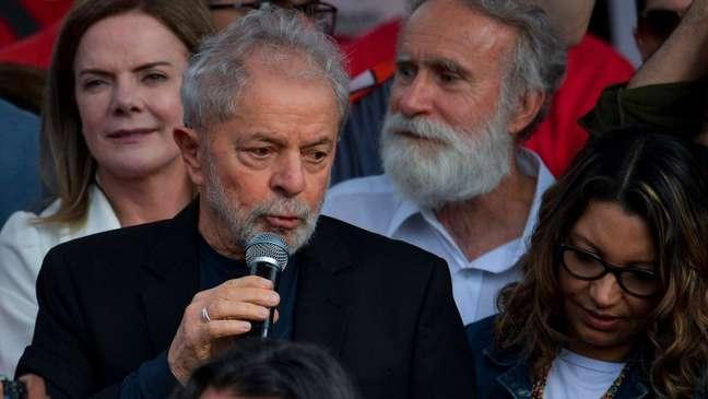Lula fará discurso no sábado durante festa de comemoração de sua libertação