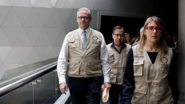 Auditoria da OEA detectou irregularidades na votação de 20 de outubro