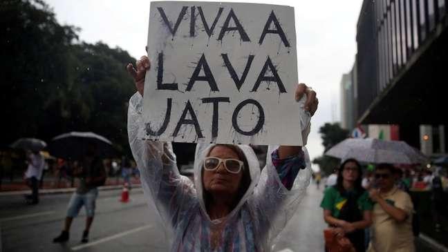 Em março de 2018, 84% dos brasileiros achavam que a Lava Jato deveria continuar, segundo Datafolha