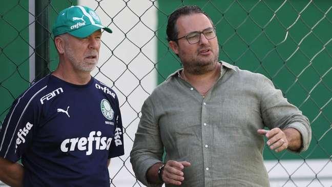 O Palmeiras garantiu vaga na Libertadores do ano que vem (Foto: Agência Palmeiras/Divulgação)