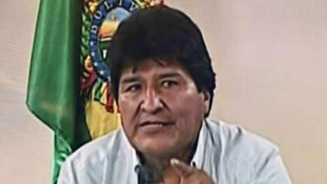 Morales anunciou sua renúncia em um pronunciamento na televisão no domingo (10)