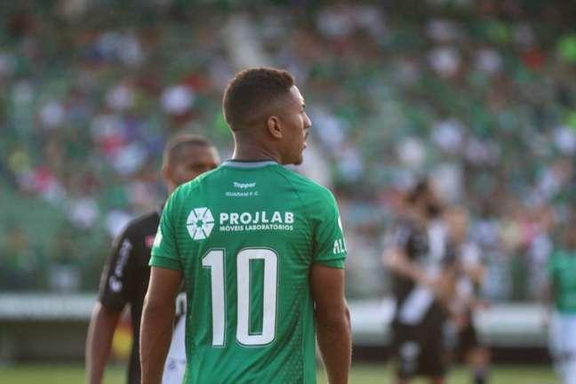 Davó deve voltar como titular no duelo contra o Operário-PR (Foto: David Oliveira/GFC)