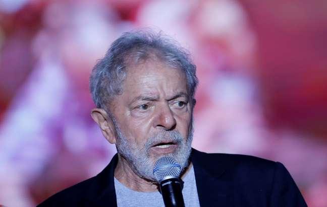 Ex-presidente Luiz Inácio Lula da Silva 17/11/2019 REUTERS/Adriano Machado