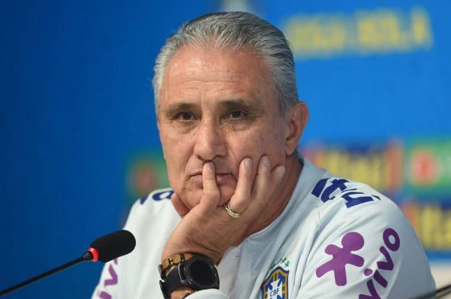 Seleção brasileira, do técnico Tite, vai jogar sem público em outubro (Foto: Sergio Barzaghi/Gazeta Press)