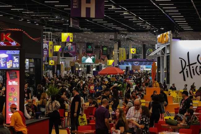 CCXP 2019 é realizada em São Paulo.