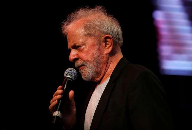 Ex-presidente da República Luiz Inácio Lula da Silva em evento em Recife