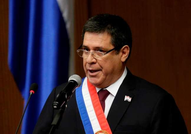 Ex-presidente do Paraguai Horacio Cartes 01/07/2018 REUTERS/Jorge Adorno