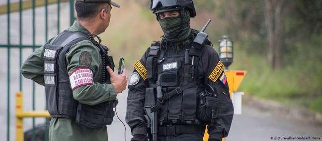 Em janeiro de 2018, base militar em Caracas foi alvo de ataque