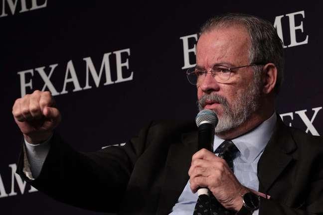 Raul Jungmann durante Fórum da Revista Exame 2019