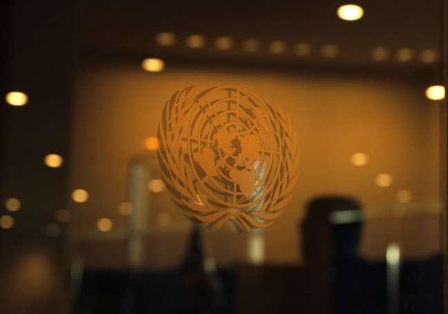 Logo da ONU em sede de Nova York. REUTERS/Lucas Jackson