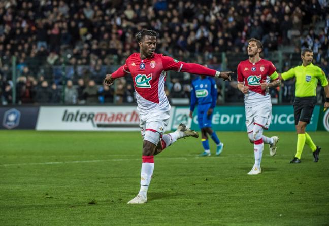Baldé marcou dois gols e foi o destaque da vitória do Monaco nesta segunda-feira (Foto: Divulgação)