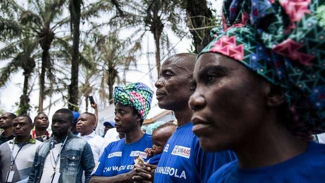 Último surto de ebola está concentrado no Congo