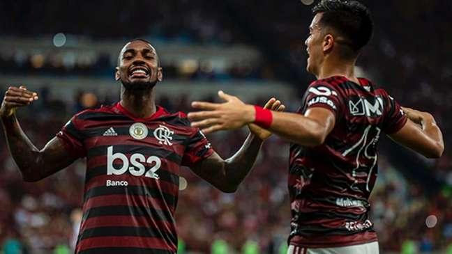 O meia Gerson foi um dos nomes mais elogiados pelos torcedores do Flamengo em 2019 (Alexandre Vidal/Flamengo)