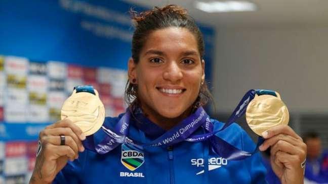 Ana Marcela Cunha é esperança de medalha na Olimpíada de Tóquio (Foto: Satiro Sodré/Rededoesporte.gov.br)