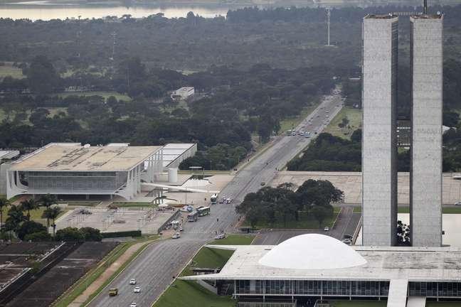 O Palácio do Planalto e o Congresso Nacional em Brasília 18/04/2013 REUTERS/Ueslei Marcelino