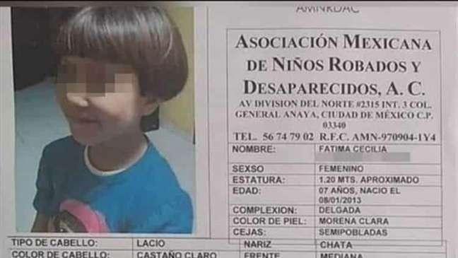 Fátima desapareceu em 11 de fevereiro