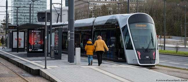 Bonde em Luxemburgo. Gratuidade só vai afetar 8% do orçamento de transportes no país