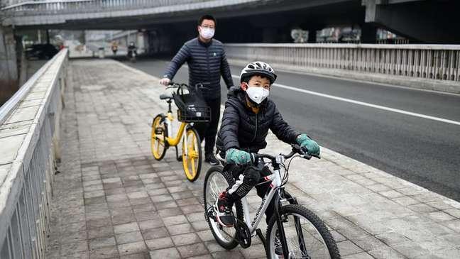 O coronavírus tem reduzido as emissões de dióxido de carbono na China