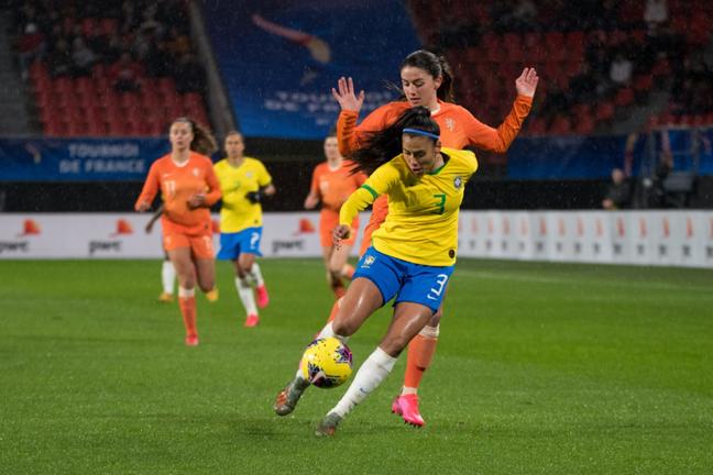 Brasil ficou no empate com a vice-campeã mundial (Foto: Divulgação/CBF)